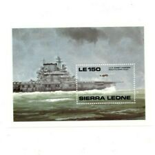 VINTAGE CLASSICS - Sierra Leone 1182 - World War II - Souvenir Sheet -MNH