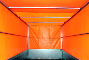 Stema Metall Spriegel Unterbau Spriegelgestell 80cm für PKW Anhänger Plane NEU