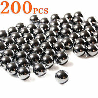 200pcs 6 8 10 mm Slingshot Ammo Ball Catapult Hunting Fishing Shooting Balls