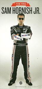 2010 Sam Hornish, Jr. Mobil 1 Dodge Charger NASCAR postcard