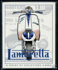 LAMBRETTA - COLLECTORS CARD SET - Model A B C D LC LD Li150 TV175 SX200 & GP200