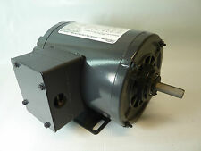 DAYTON 3N349BD ELECTRIC MOTOR 1/4 HP 3 PH 1725 RPM 208-230/460 VOLT 3N349