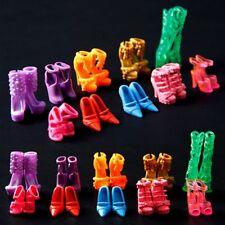Baby 10 Paar Puppe Schuhe für Fit Barbie-Puppen (genau wie in Foto) Kid Spielzeu