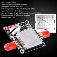 AD8318 RF Mondule Détecteur Logarithmique Amplificateur Dynamique 1M-8GHz 70dB