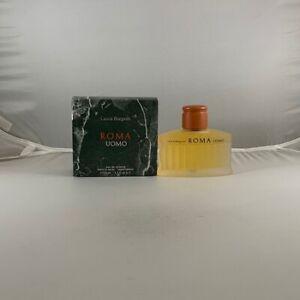 Roma Uomo Cologne by Laura Biagiotti - 4.2 oz / 125 ml EDT Spray New In Box