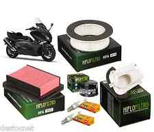 Kit Entretien Filtres Air/Huile HifloFiltro Bougies Yamaha Tmax Tmax 530 2012 ->
