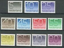 NVPH nr.1108-1118a Crouwel rolzegel 1976 postfris (MNH)