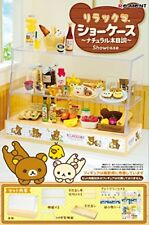 Re-ment Rilakkuma Display Showcase - natural wood Miniature Figure Japan F/S