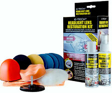 E-Tech Headlight Lamps & Tail Lights Clear Clarity Lens Restoration Restore Kit