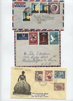 1950s and 60s 3 Ghana covers Kennedy, independence, etc [L.134]