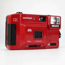 Braun Nürnberg C35 F Autoflash DX Ultravit 34mm F4.5 Red Compact Camera - Tested