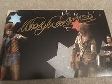 WOODY WOODMANSEY SIGNED DAVID BOWIE PHOTO PHOTOGRAPH NOT LP VINYL IN PERSON RARE