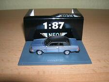 Neo Volvo 262C / 262 C Bertone blau mit schwarzem Dach, 1:87 Neu + OVP H0
