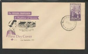 1955 NURSING First Day Cover