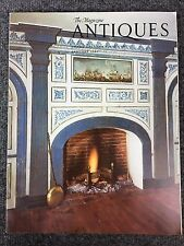 The Magazine Antiques January 1980 - Vintage American Folk Art Pottery Furniture
