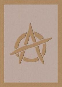 Anarchy Symbol Stencil Riot Protest Punk Decor A6 A5 A4 A3
