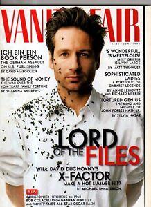 1998 Vanity Fair June - David Duchovny; Ertha Kitt; Lena Horne; Covarrubias;