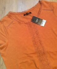 BNWT Next Burnt Orange Top Size 18