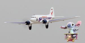 SENT2U! PNP DYNAM DAKOTA DC3 SKYBUS  Electric RC Aeroplane Plane C47 Skytrain