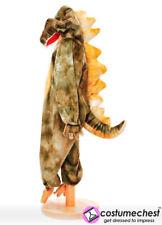 Childrens Girls Boys 7-9 years Green Dinosaur Costume by Pretend To Bee