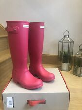 Womans Hunter Wellies Size 4