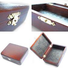 Wooden Decorative BOX midsize - Handmade, Ash Wood, brown unique folk art NEW