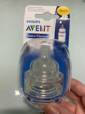 Philips Avent 2  Newborn flow nipples - Classic