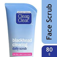 Clean & Clear Oil Free Blackheads Clearing Daily SCRUB 80 gm. Remove Dead cells