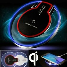 Fast Qi Wireless Charger Crystal Charging Pad Mat Dock for iPhone 8 X Samsung S8