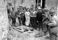 Photo WW2 débarquement de Normandie soldats us américains format 10x15 cm n472