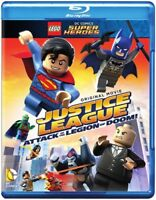 Lego DC Super Heroes: Justice League - Attack of the Legion of Doom! [New Blu-ra