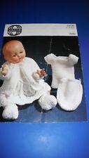 Sirdar Dolls Layette Knitting Pattern 5436