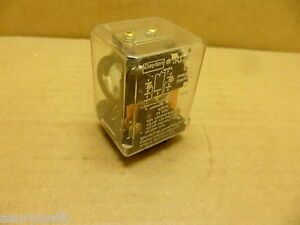 DAYTON 5Z570 RELAY 24 VDC COIL LOAD -10 AMP 10 FLAT PINS NOS Free Ship in USA