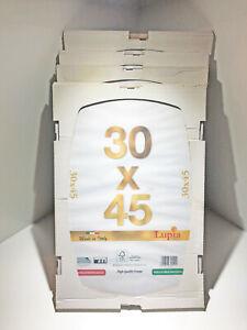 4pz CORNICI GIORNO ANTINFORTUNISTICO PLEXIGLASS PORTA FOTO 30cm x 45cm CORNICE
