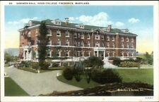 Frederick MD Shriner Hall Hood College c1920 Postcard