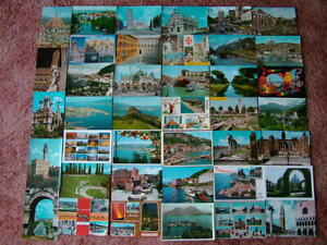 40 Unused Postcards of ITALY & ISLANDS. Good - Very good condition...