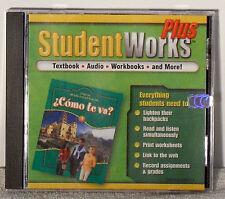 Glencoe Middle School Spanish : Cómo Te Va ? Student Works Plus CD Green