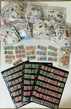 ANTIQUE + VINTAGE CANADA STAMP COLLECTION LOT OF STAMPS FROM 1870 QUEEN VICTORIA