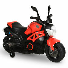 Aosom Motorcycle Ride On 6V Battery Powered Electric with MP3 for Kids Aged 3-8