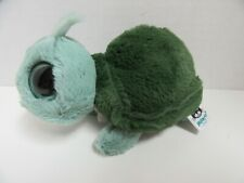 Jellycat Plush Toy Turtle Tortoise Big Eyes Green 6 Inch