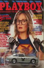 Hot Wheels CUSTOM ASTON MARTIN Playboy Valerie Perrine Real Riders Limited
