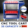 BT40 CNC Tool Trolley Cart Holders Toolscoot Super CAT40 CT40 40-Taper NMBT40