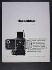 1969 Hasselblad Camera System vintage print Ad