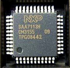 NXP/PHI SAA7113H QFP-44 9-bit video input processor