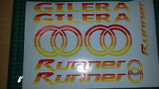 Gilera Runner Decals/Stickers-EXCLUSIVE MALOSSI  COLOURS - sp vx fxr vxr 125 172