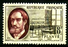 France 1957 Savants et inventeurs Gaston Planté Yvert n° 1095 neuf ** MNH