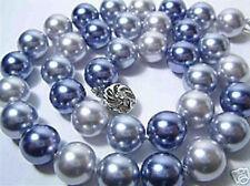 10MM Multicolor Südsee Shell perlen Halskette 46CM