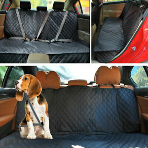 Dog Car Seat Cover Waterproof Pet Carrier Back middle Seats Protector Large Dogs