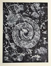Sam Francis - Original Limited Edition White-ground Aquatint Etching Print 1983