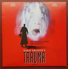 Trauma - NTSC - Laserdisc - Dario Argento - Horror